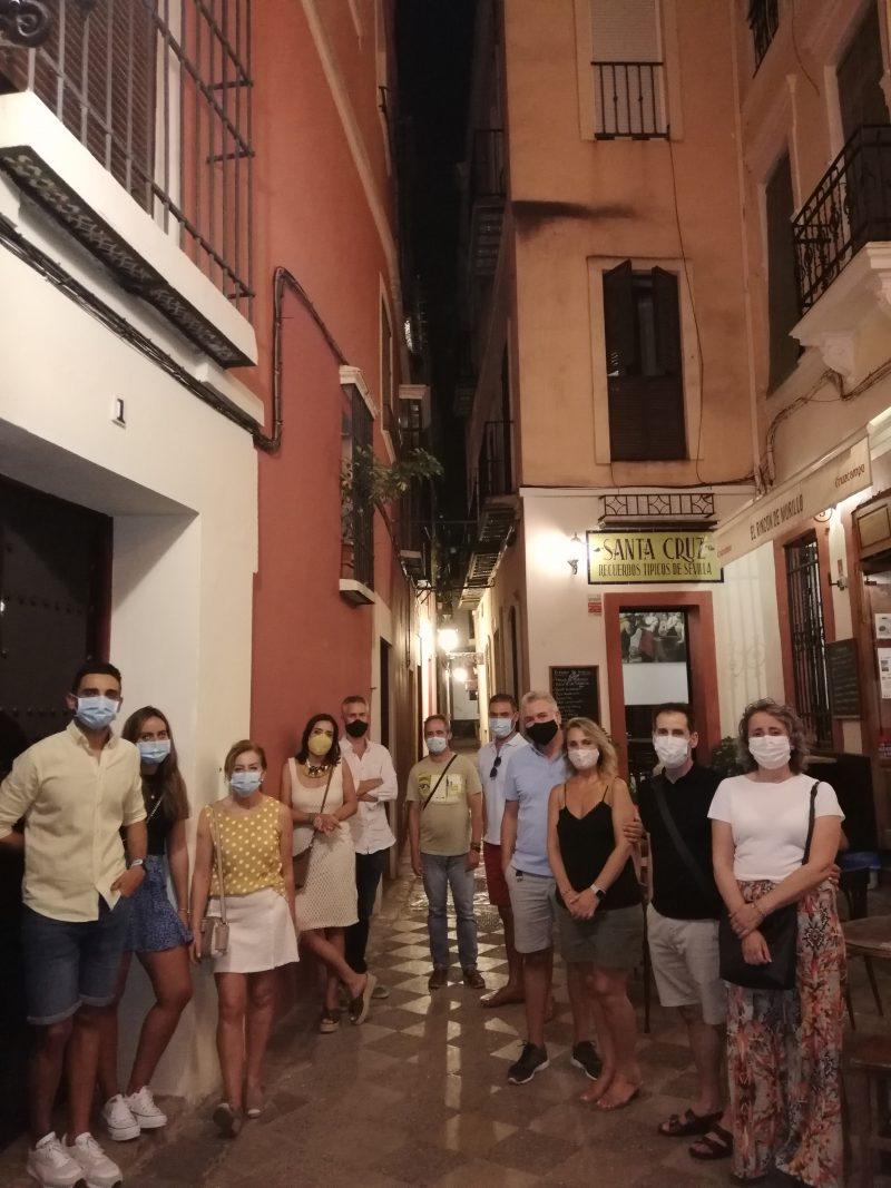 Rutas y visitas guiadas en Sevilla, rutas y visitas en Sevilla y Santiponce, rutas por Sevilla, rutas en Sevilla