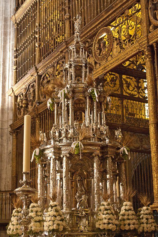 Custodia de Juan de Arfe, Catedral de Sevilla