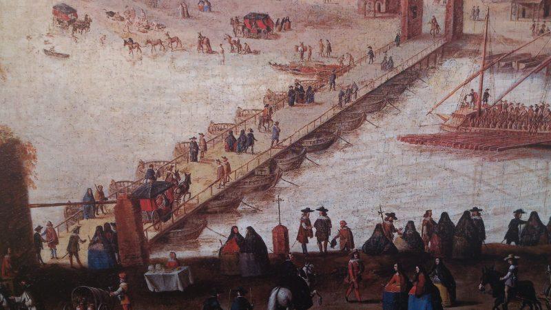 Puente de Barcas. Anterior al puente de Triana. Página web Sevilla Mágica y Eterna.