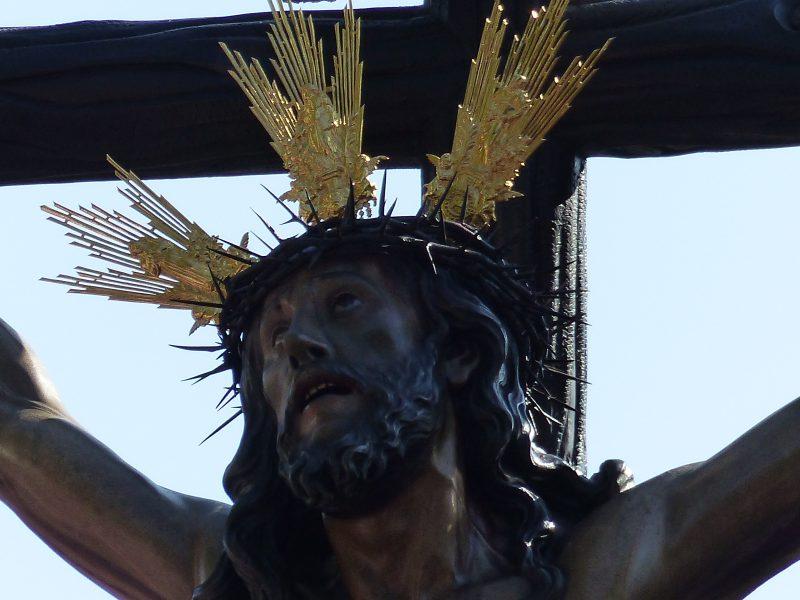 La leyenda del Cachorro. Cristo de la Expiración. El Cachorro. Francisco Antonio Ruiz Gijón.