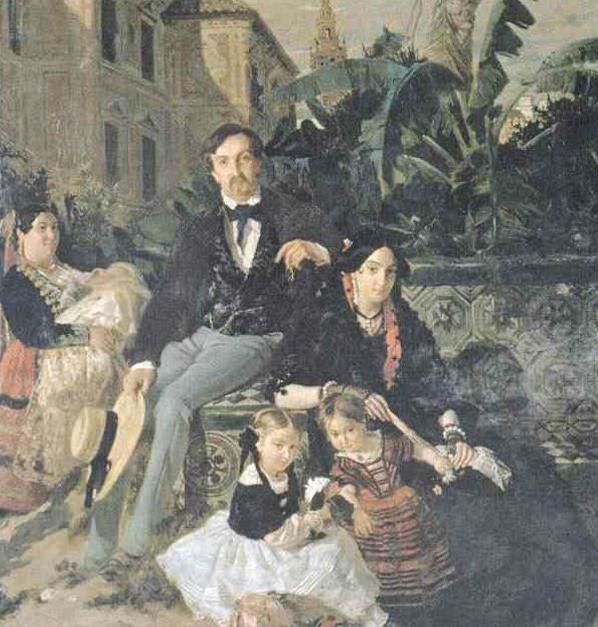 Los duques de Montpensier residieron en el palacio arzobispal de Sevilla mientras se acometían las acciones de reforma en el palacio de San Telmo