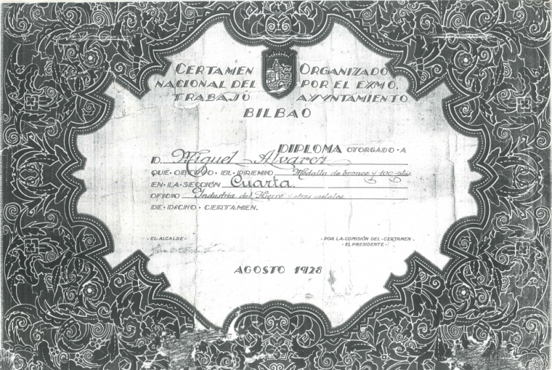 Autores de la reja del Diablo: Miguel Álvarez, Jose Ramón Alvarez, reja de los Álvarez. Decubrimiento de Inmaculada Mansilla Cejas