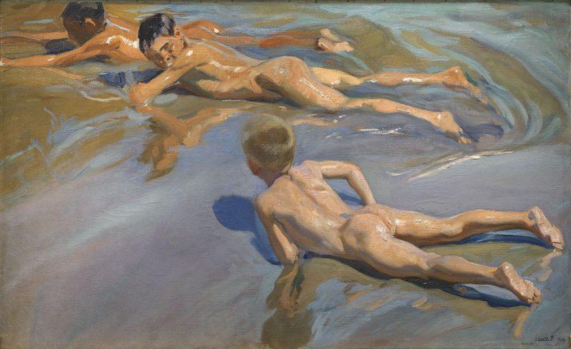 el agua en la pintura , paisaje , La simbología del agua , paisaje pictórico