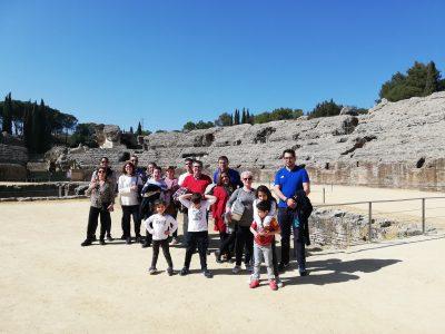 Visita a Itálica con la empresa cultural SevillaMágica y Eterna