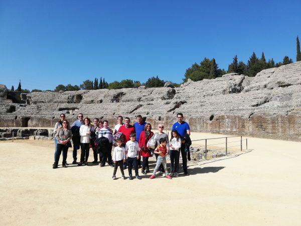 Visita Guiada a Itálica, ruinas romanas, Santiponce