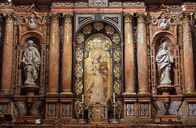 La Virgen de la Antigua. Ruta La Sevilla de la Reconquista. Sevilla bajo los reinados de San Fernando, Alfonso X El Sabio y Sancho IV. Conoce cómo fue la Reconquista de Sevilla en 1248 (o la conquista de Sevilla).