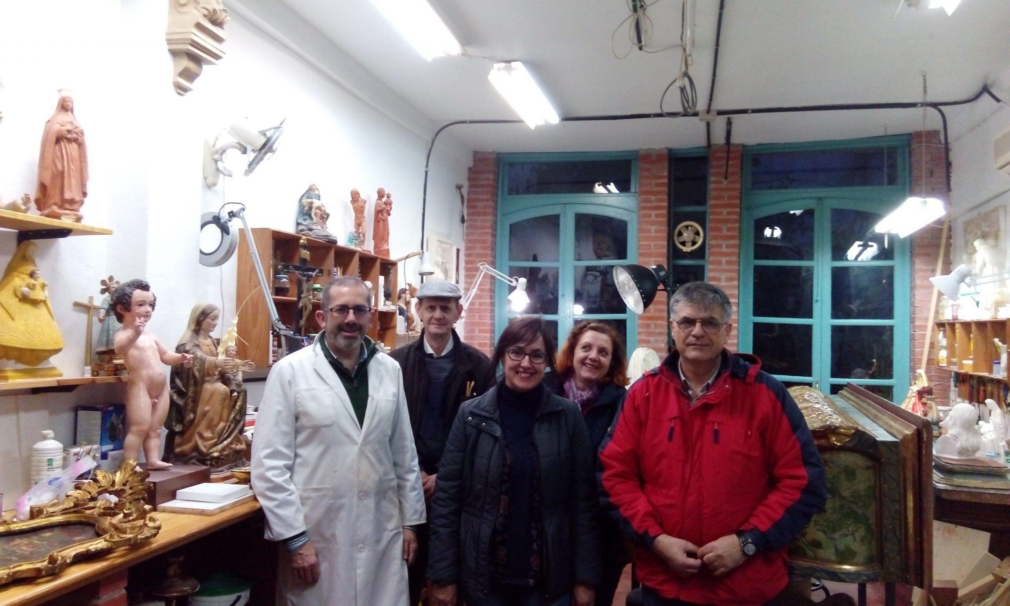 Experiencia Cultural La Tradición Artística del Taller Sevillano. José Manuel Cosano