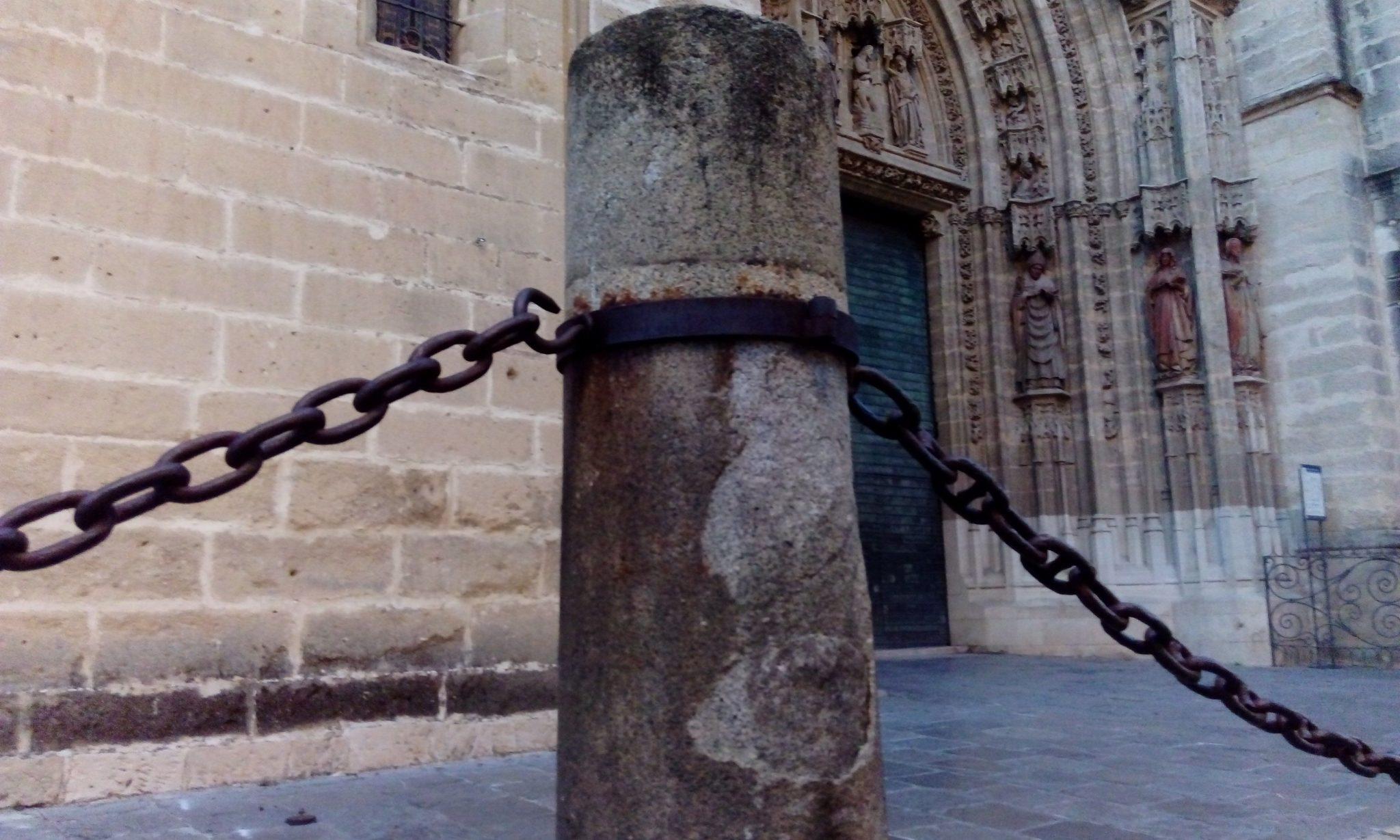 Cadenas de la Catedral de Sevilla.