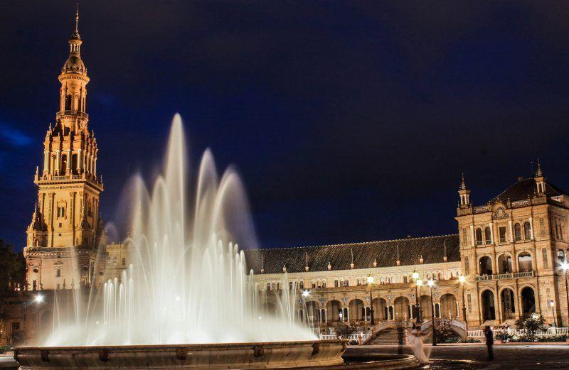 Plaza de España, Aníbal González, la plaza de España, regionalismo, arquitectura regionalista, Esposición Iberoamericana de 1929, expo del 29