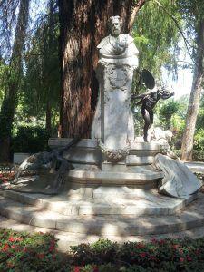 Glorieta de Gustavo Adolfo Bécquer.