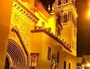 IGLESIA DE SANTA ANA. Fotografía de la página web de Sevilla Mágica y Eterna.