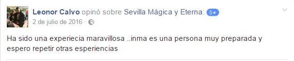 Opinión sobre Sevilla Mágica y Eterna.