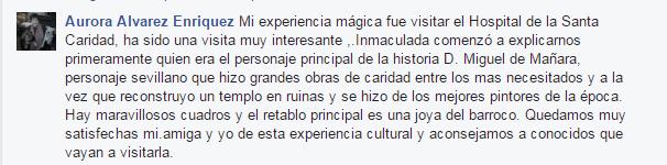 Opinión sobre Sevilla Mágica y Eterna. Opinión sobre La Iglesia de la Caridad y Miguel de Mañara de Sevilla Mágica y Eterna