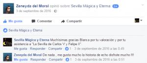 Opinión sobre Sevilla Mágica y Eterna