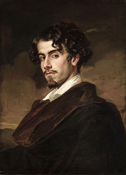 Retrato de Gustavo Adolfo Bécquer.