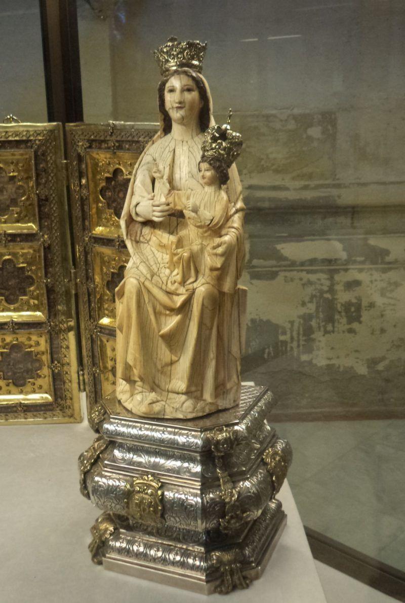 Virgen de las Batallas. Ruta La Sevilla de la Reconquista. Sevilla bajo los reinados de San Fernando, Alfonso X El Sabio y Sancho IV.